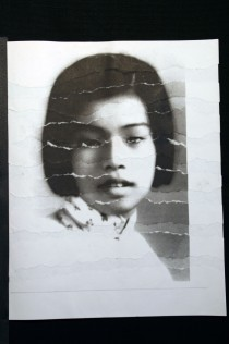 "Al Wong, ""Lost Sister #3"" © 2006, Photo collage"