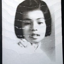 "Al Wong, ""Lost Sister #4"" © 2006, Photo collage"
