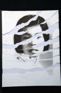 "Al Wong, ""Lost Sister #5"" © 2006, Photo collage"