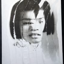 "Al Wong, ""Lost Sister #6"" © 2006, Photo collage"