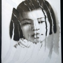 "Al Wong, ""Lost Sister #7"" © 2006, Photo collage"