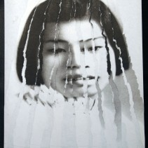 "Al Wong, ""Lost Sister #9"" © 2006, Photo collage"