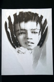 "Al Wong, ""Lost Sister #10"" © 2006, Photo collage"