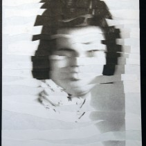"Al Wong, ""Lost Sister #23"" © 2006, Photo collage"