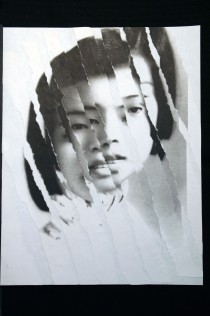 "Al Wong, ""Lost Sister #33"" © 2006, Photo collage"