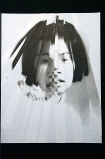 "Al Wong, ""Lost Sister #36"" © 2006, Photo collage"