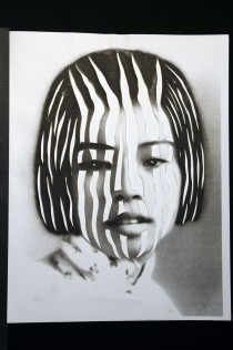 "Al Wong, ""Lost Sister #51"" © 2006, Photo collage"