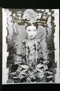 "Al Wong, ""Lost Sister #58"" © 2006, Photo collage"
