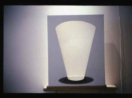 "Al Wong, ""Light Glass"" ©2001, 28""H x 24""W, Mixed media."