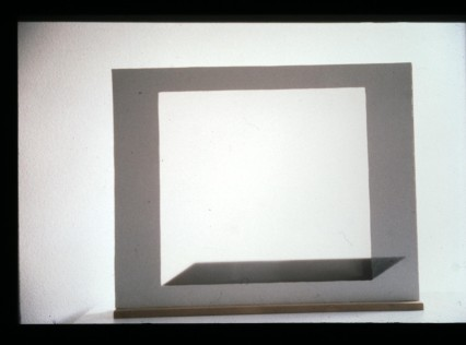 "Al Wong, ""Square Light"" ©2001, 2'H x 2'6""W, Mixed media."