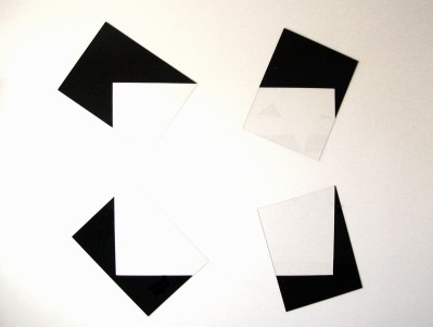 "Al Wong, ""Rectangle,"" ©2005, 5'4""H x 5'W, Plastic and acrylic."